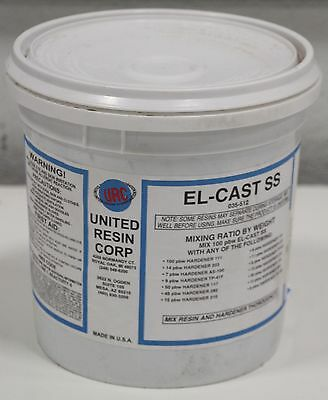 Urc United Resin El-cast Ss High Thermalstrength Electronic Epoxy Adhesive 8 Lb