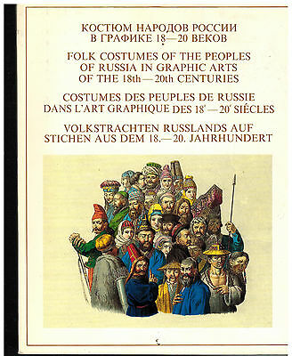 Folk Costumes of the Peoples of Russia in Graphic Arts of 18th-20th Centuries