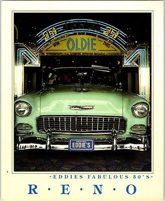 1990s Eddie's Fabulous Fifties Hotel Casino Reno NV Postcard 1950's Oldies theme](Fifties Theme)