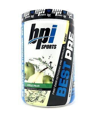 BPI Sports Best Pre-Workout Apple Pear Muscle Enhancing Diet
