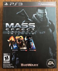 Mass Effect Trilogy PS3 USED Videogame PlayStation 3 $30.00