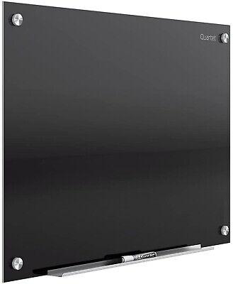 Quartet Glass Whiteboard Magnetic Dry Erase White Board 3 X 2 Infinity Black