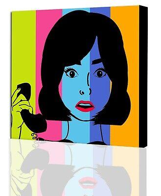 Personalized Wall Art - Custom Pop Art from Photo to Canvas Wall Art  Custom Pop Art Canvas