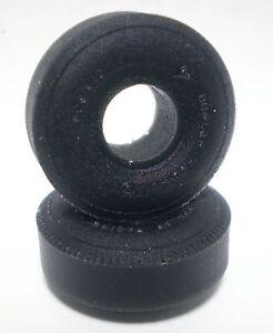 1-24-URETHANE-SLOT-TIRES-2pr-fits-Cox-Dunlop-6-00x13