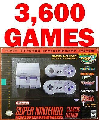 NEW Official Nintendo Super NES Classic Edition SNES Mini
