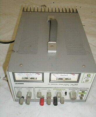 Leader Lps 152 Triple Output Dc Tracking Power Supply