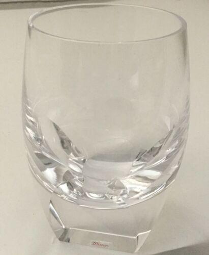 Moser Crystal Bar Highball Glass NEW IN BOX