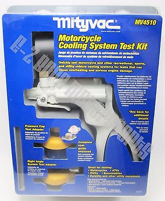(Mityvac MV4510 Motorcycle ATV All-Terrain Vehicle Cooling System Tester Kit )