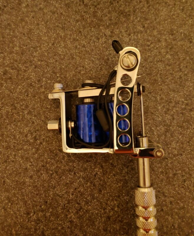 Spaulding lightweight NOS 8 wrap liner shader tattoo machine gun for kit