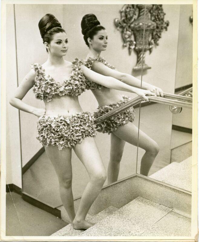 1969 Live Orchid Bikini by Conklin Swimsuit Women