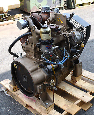 John Deere 4039t Industrial Diesel Engine Run Tested Have Video
