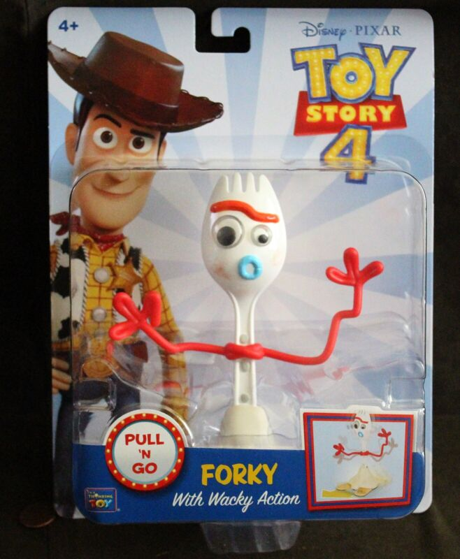 Disney Pixar Toy Story 4-Forky Wacky Action Figure-NEUF