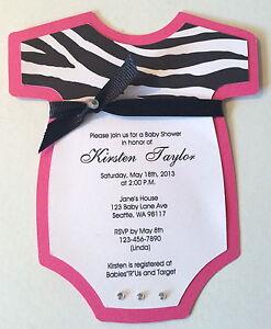 Pink Zebra Invitations is nice invitations design