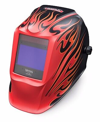 Lincoln Electric Viking 2450 Street Rod Auto Darkening Welding Helmet K3035-3