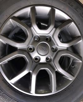 Ford FX4 Ranger Rims and Tyres, Set of 5 Willunga Morphett Vale Area Preview