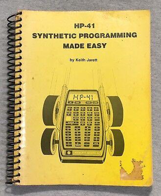 Synthetic Programming Manual for HP 41C CV CX Calculators