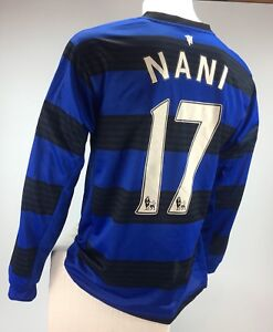 Manchester United Nani jersey Nike dri fit long sleeve