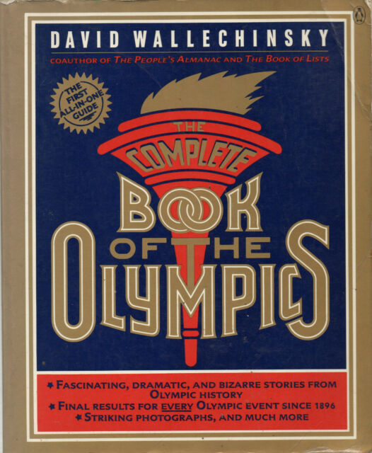 The Complete Book of the Olympics: 1984 by David Wallechinsky  (Paperback, 1984)