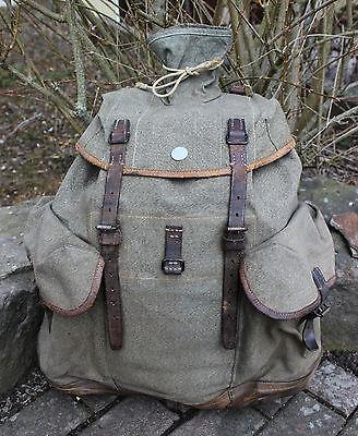 original Schweizer Armee Gebirgsrucksack M 44 - Militär Vintage Backpack TOP