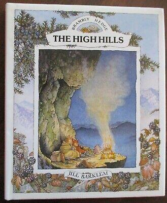 The High Hills,  Jill Barklem Brambly Hedge HB/DJ 1992