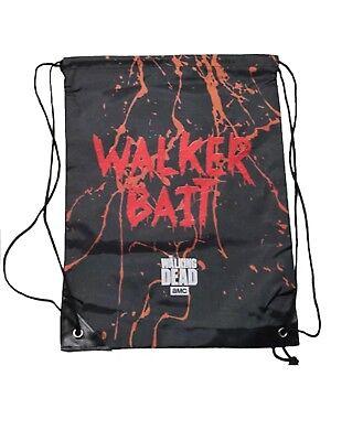 The Walking Dead Licensed Walker Bait Halloween Treat Bag String Backpack