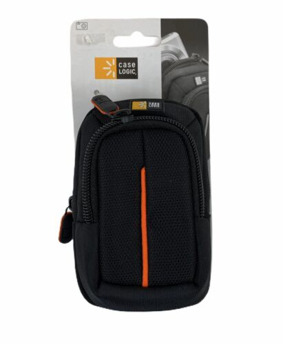 Compact Digital Camera Case With Storage, Polyester/Nylon, 3