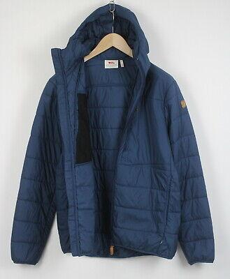 FJALLRAVEN KEB PADDED HOODIE 82413 Men's M Lightweight Quilted Jacket 22028_JS