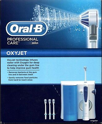 (OUT OF STOCK) Braun Oral-B Professional Care Oxyjet MD20 Electric Toothbrush