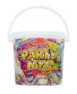 Halloween Party Mix For Kids (Swizzels Party Mix Sweets Bucket 840g Halloween Treats for Kids / Children)