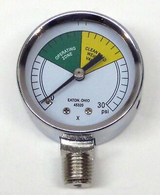 Pressure Gauge 0-30 Psig 2 Diameter For Henny Penny Fryer 16910 62-1053