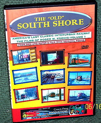 """20116 TRAIN VIDEO DVD """"THE OLD SOUTH SHORE"""" VINTAGE FILM !!!"""