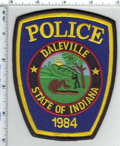 Daleville Police (Indiana) Shoulder Patch - new from the 1980s