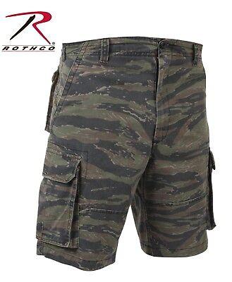 Tiger Stripe Vintage Camo Paratrooper Cargo Shorts - Rothco Vintage Camo Shorts ()