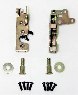 - SMALL BEAR CLAW DOOR LOCK LATCH + STRIKER DOUBLE LATCH HOT ROD, CUSTOM,FORD,CHEV