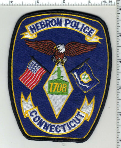 Hebron Police (Connecticut) 2nd Issue Shoulder Patch