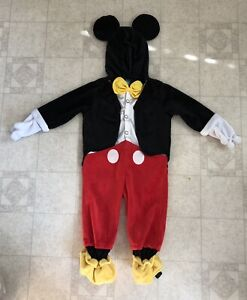 Mickey Mouse one piece costume 12-18 Months