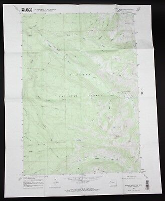 VTG 1968 Rammel Mountain Wyoming USGS Topographical Map TOPO WY 7.5 Minute
