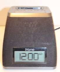 iHome Ip21 Clock, Radio, Ipod Dock 30 Pin with AC and Battery Backup option