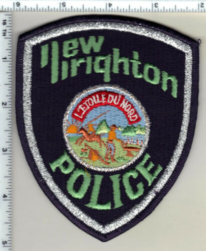 New Brighton Police (Minnesota)  Shoulder Patch  - new from 1991