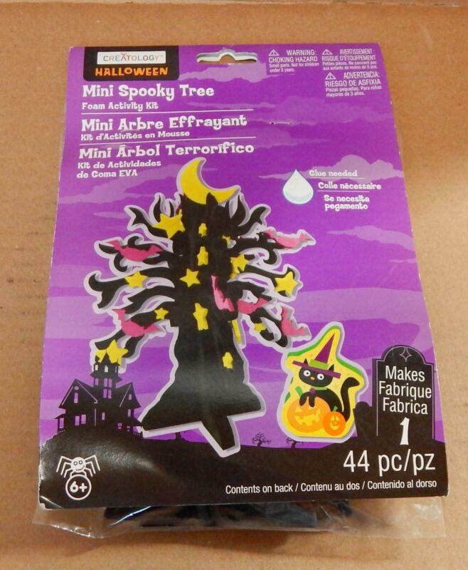 HALLOWEEN Mini Spooky Tree By Creatology 6+ Makes 1 Foam Activity Kit 44pc 43D