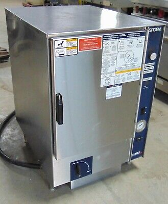Groen Convection Steamer Connectionless 3 Phase Electric Model Vrc-6e