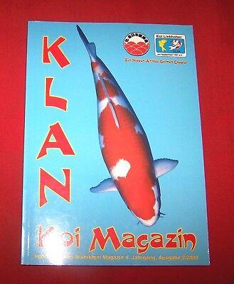 Klan Koi Magazin 2000 Nr  2 ,  9. Jahrgang , Internationales Nishikigoi Magazin