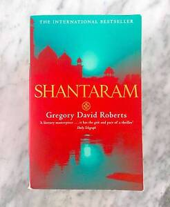 Shantaram - Gregory David Roberts Fitzroy Yarra Area Preview
