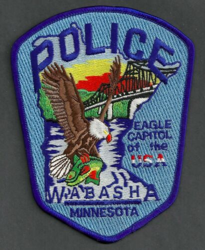 WABASHA MINNESOTA POLICE SHOULDER PATCH