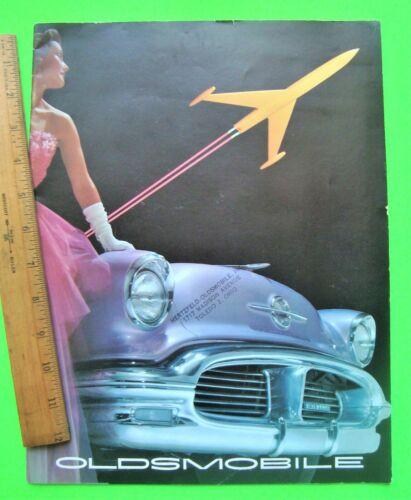 1956 OLDSMOBILE HUGE PRESTIGE CATALOG Brochure 32-pg SUPER 88 Holiday Coupe XLNT