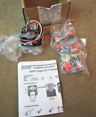 New Mars Super-fit No.90970 Refrigerator Evaporator Fan Motor 115230 Volt