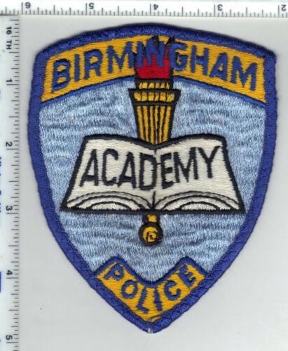 Birmingham Police Academy (Alabama) 1st Issue Uniform Take-Off Shoulder Patch
