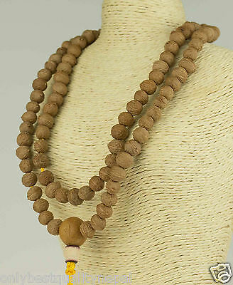 Mala Necklace Stupa Raktu Seeds Nepal Buddhism 86g
