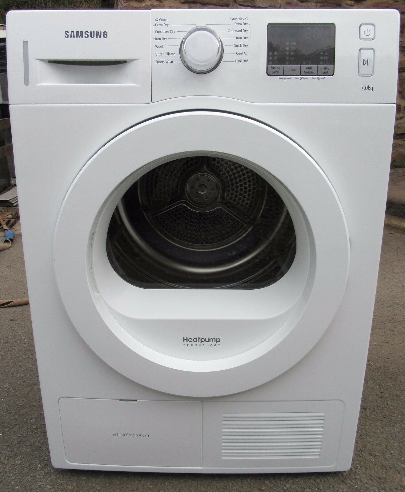 SAMSUNG DV70F5EOHGW, 7kg A++ ENERGY HEAT PUMP dryer, 12M warranty!* RRP £629 *5