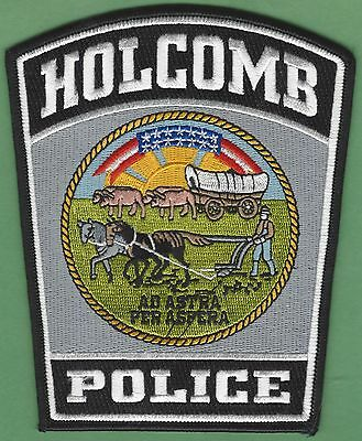 HOLCOMB KANSAS POLICE PATCH